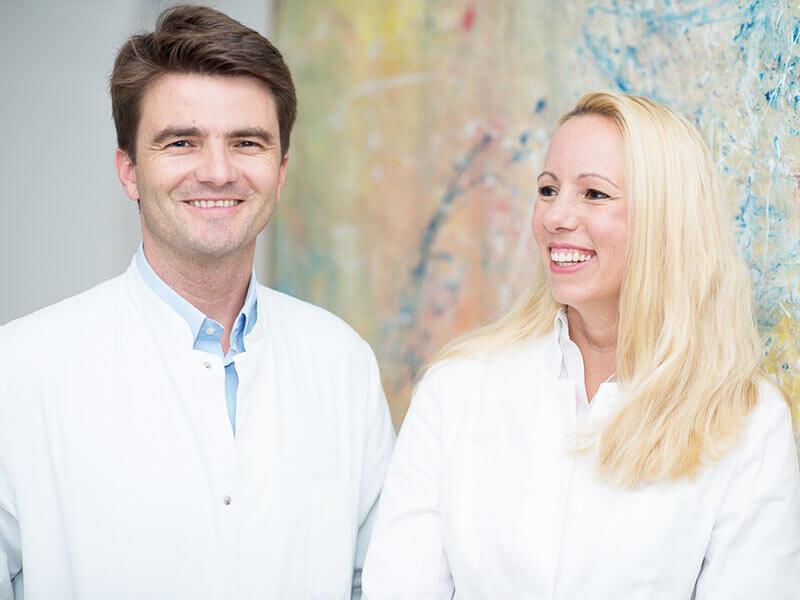 Dr. Christian Radu und Dr. Susanne Hüttinger
