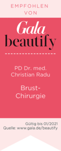 Brustchirurgie PD Christian Radu