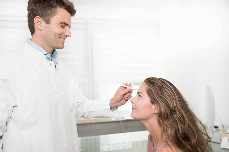 Hyaluron Behandlung