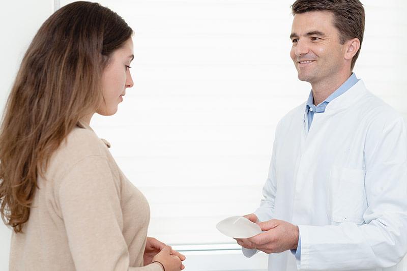 Brustimplantate wechseln