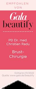 Brustchirurgie PD Christian Radu